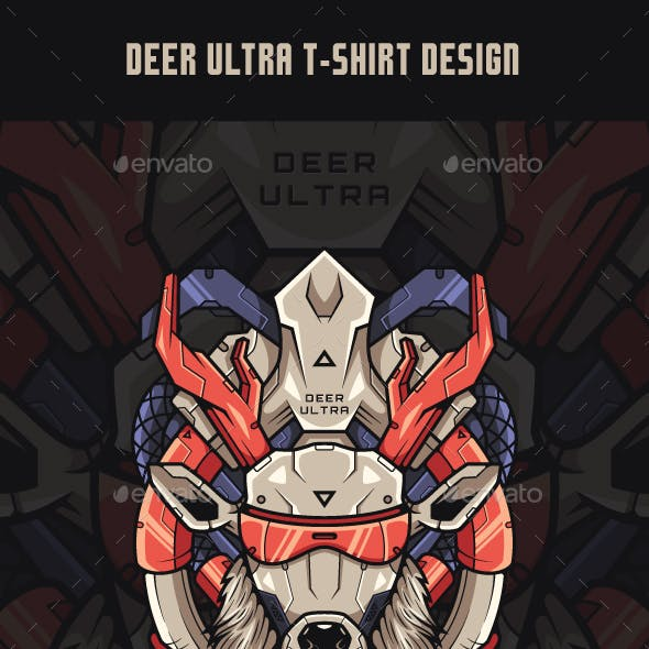 Deer Ultra T-Shirt Design
