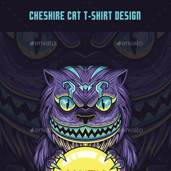 Cheshire Cat T-Shirt Design