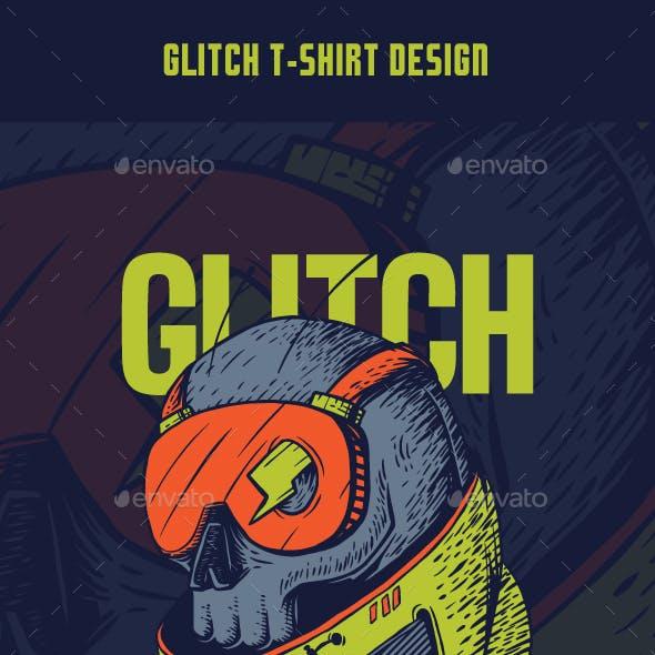 Glitch T-Shirt Design