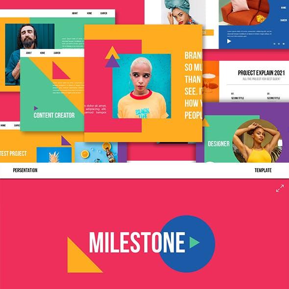 Milestone Keynote Template