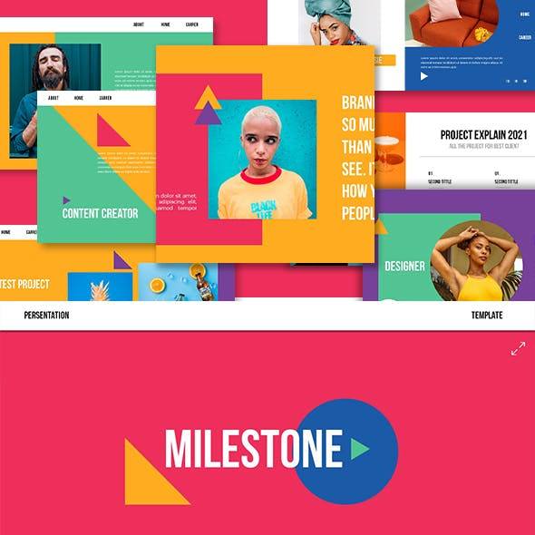 Milestone Google Slide Template