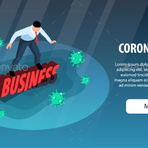 Covid Business Crisis Banner