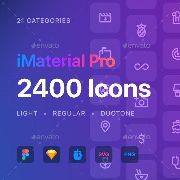 iMaterial Pro Icons
