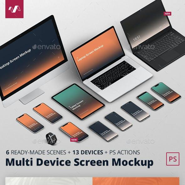 Multi Device Screen Mockup Creator