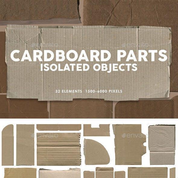 32 Clean Cardboard Parts