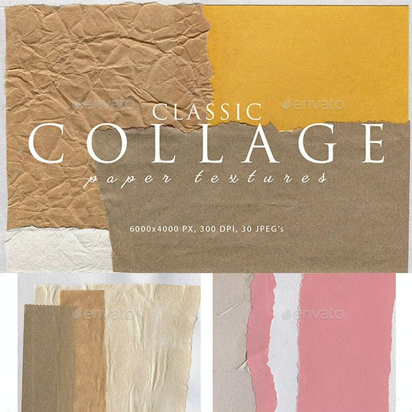 Collage Paper Textures 1