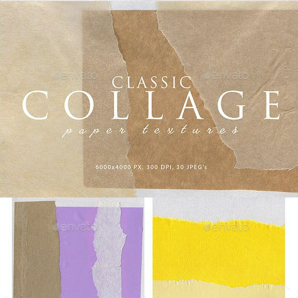 Collage Paper Textures 2