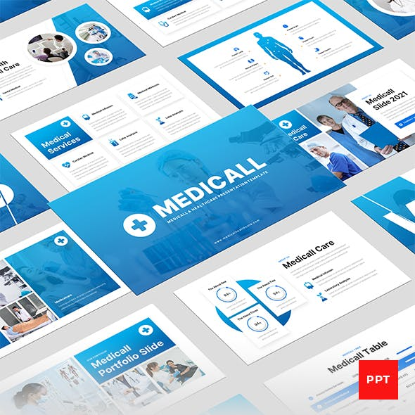 Medicall - Medical & Health PowerPoint Presentation Template