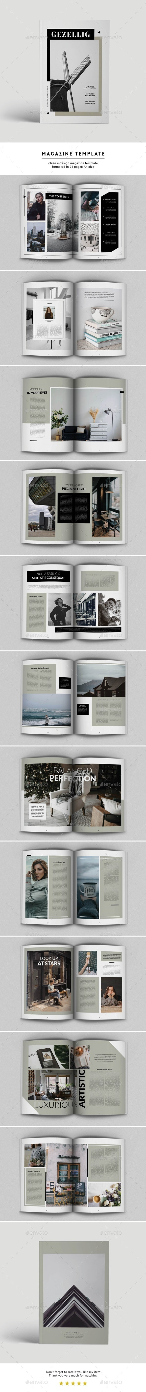 Magazine Template 02 - Magazines Print Templates