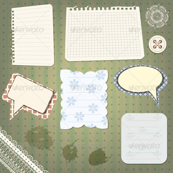 Vector Scrapbook Elements
