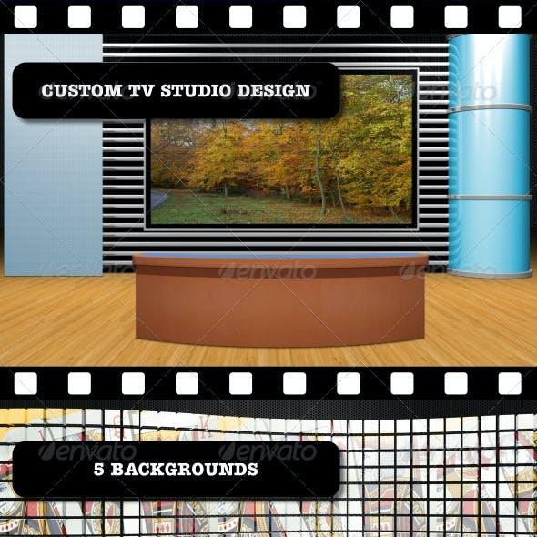 Custom TV Studio Design