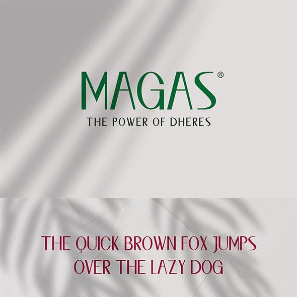 Magas Typeface Sans Serif