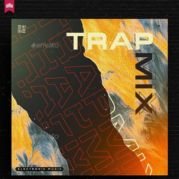 Trap Mix - Music Album Cover Artwork