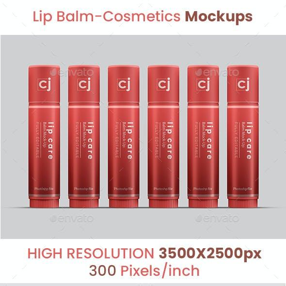 Lip Balm / Cosmetic Mockups