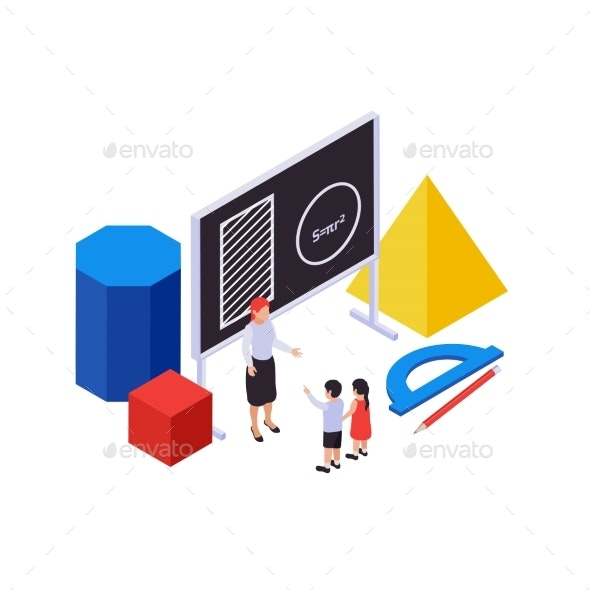 STEM Education Illustration - Miscellaneous Vectors