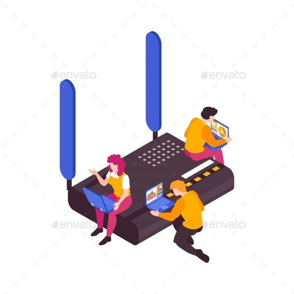 5g Internet Illustration - Computers Technology