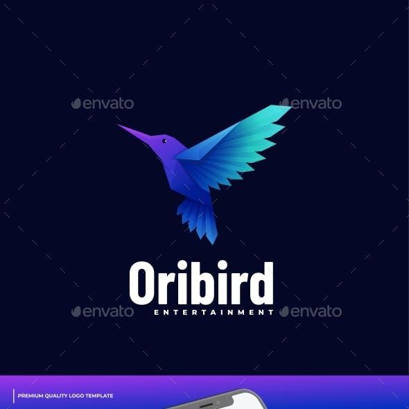 Bird Gradient Logo Template