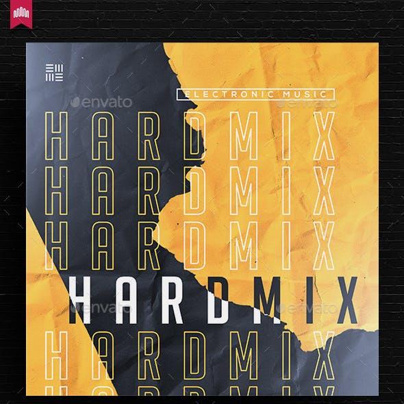 Hard Mix - Music Album Cover Artwork