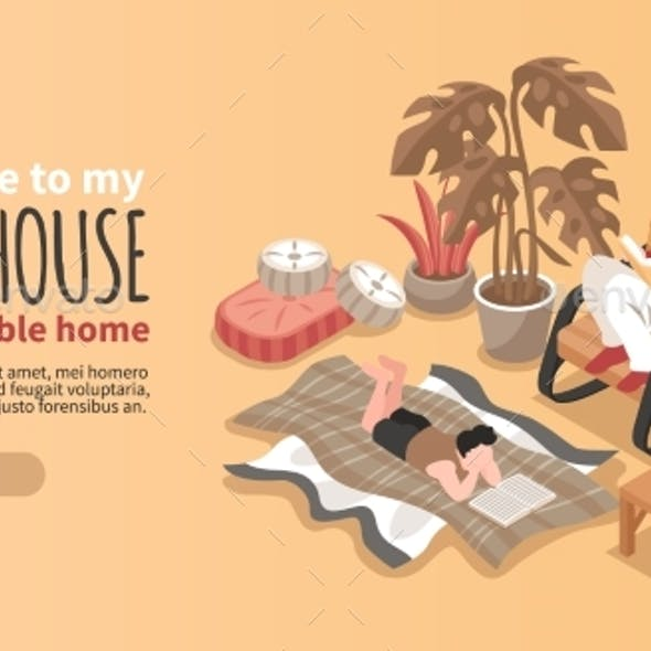 Cozy House Banner
