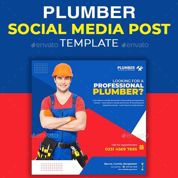 Plumbing Social Media Post Template