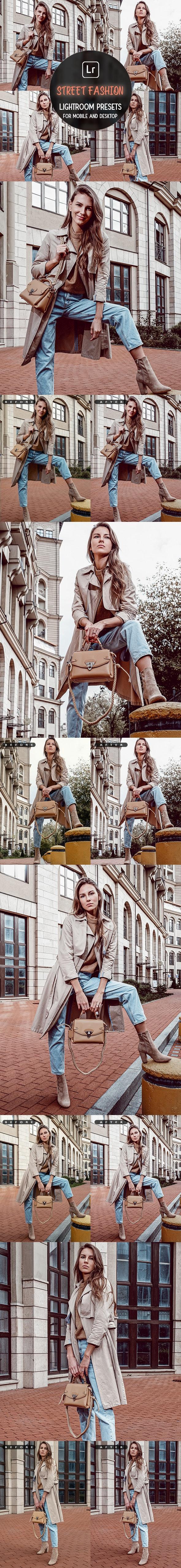 Street Fashion - Lightroom Presets - Lightroom Presets Add-ons