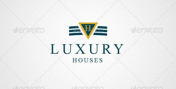 Real Estate & House Logo 0178 - Vector Abstract