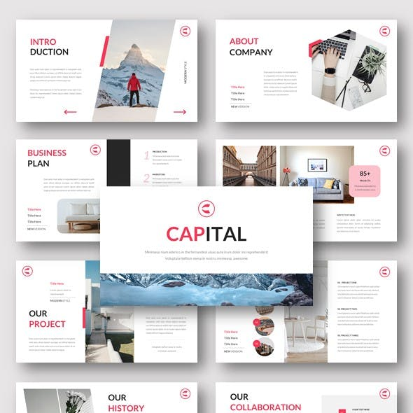 Capital - Business Google Slides Template