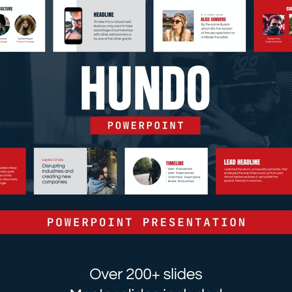 Hundo - Powerpoint Presentation Template