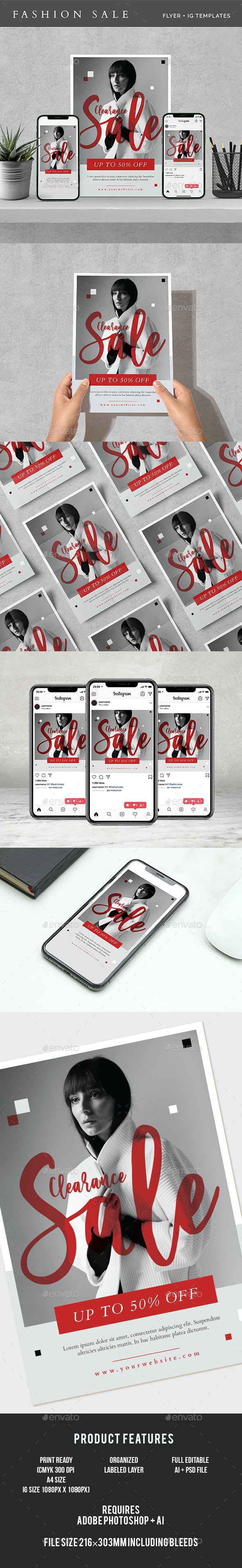Fashion Sale Flyer - Commerce Flyers