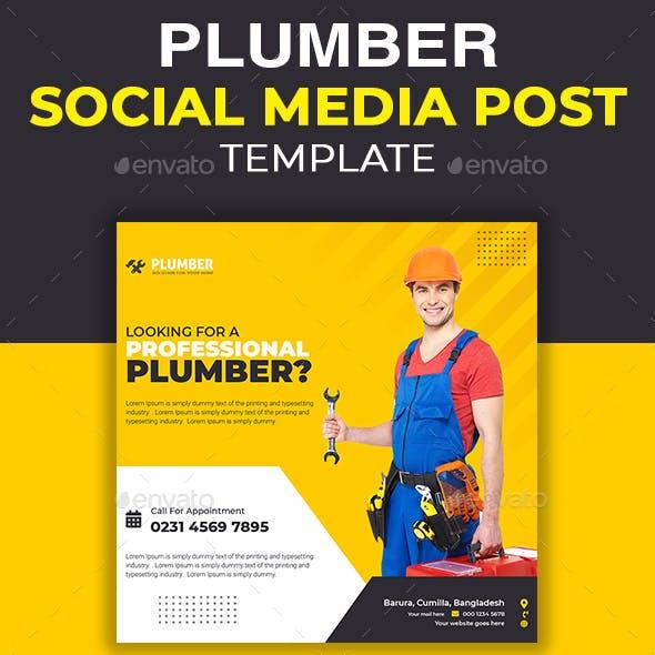 Plumbing Social Media Template