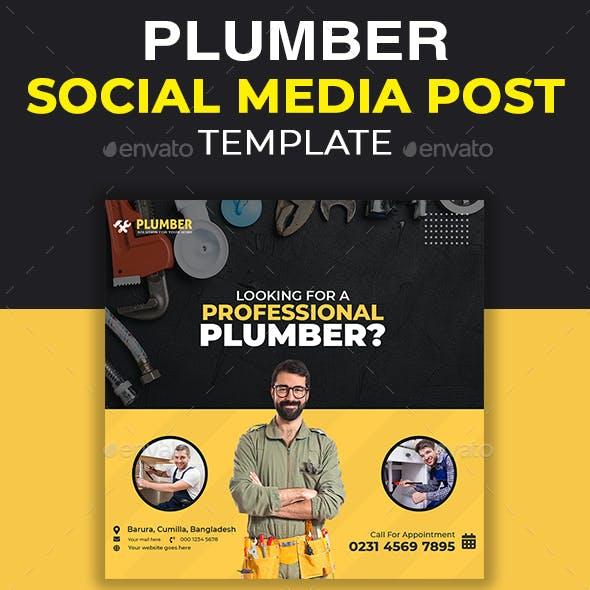 Plumber Social Media Template