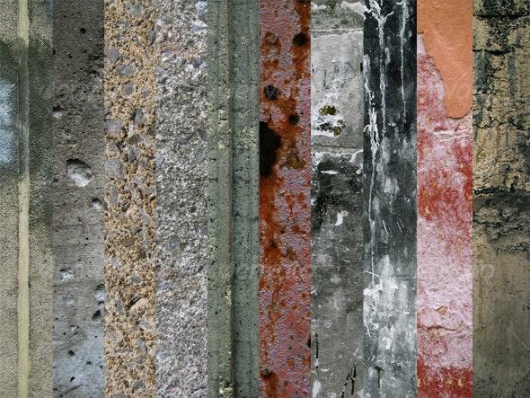Concrete Texture Package 1 (10 images) - Concrete Textures