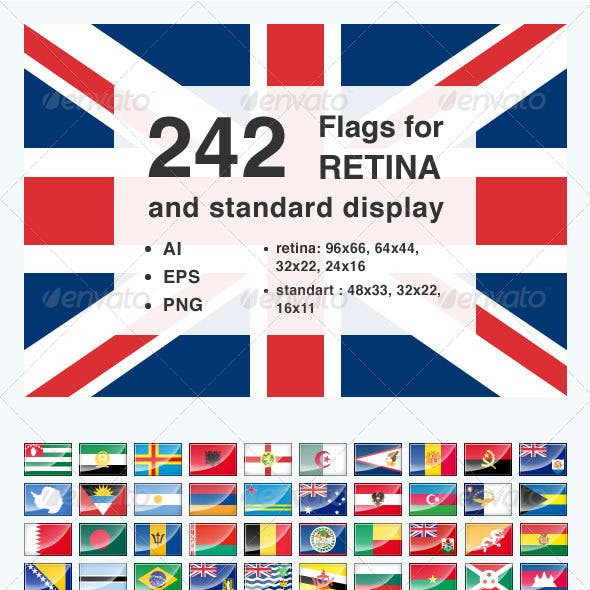 242 Flags for Retina