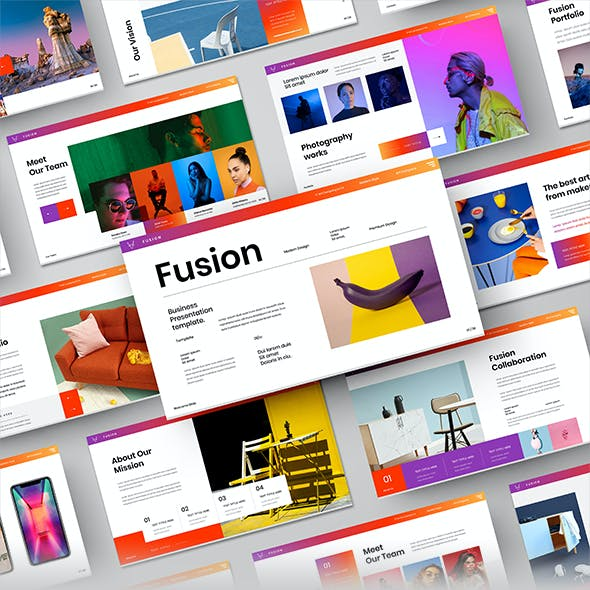 Fusion – Business Google Slides Template