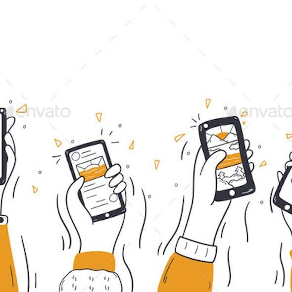 Technology Social Media Wireless Communication