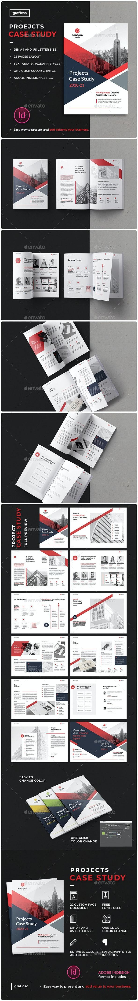 Case Study Booklet - Portfolio Brochures