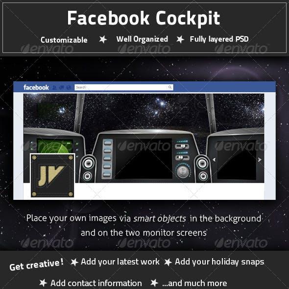 Facebook Cockpit Timeline Cover