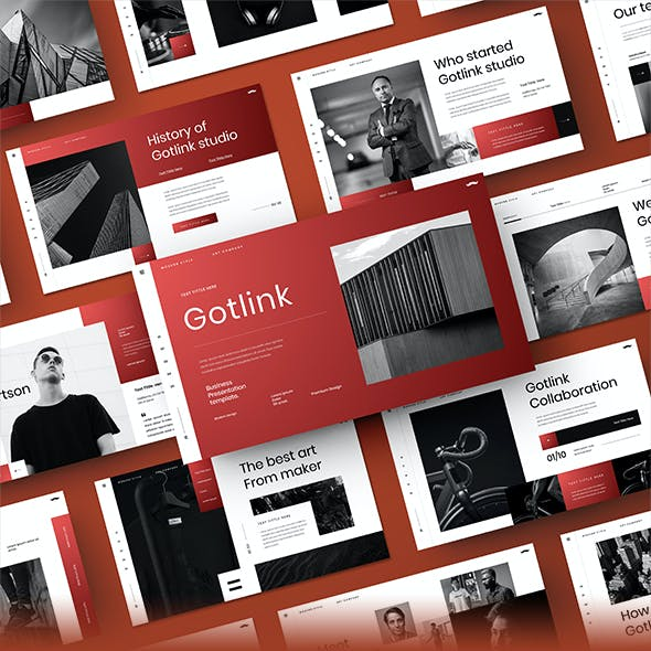 Gotlink – Business PowerPoint Template