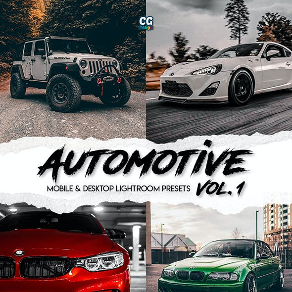 Automotive Vol. 1 - 15 Premium Lightroom Presets