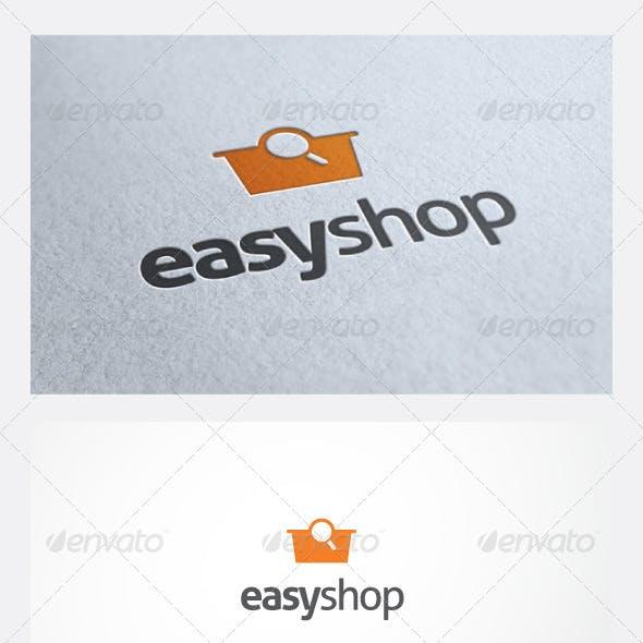 EasyShop Logo Template