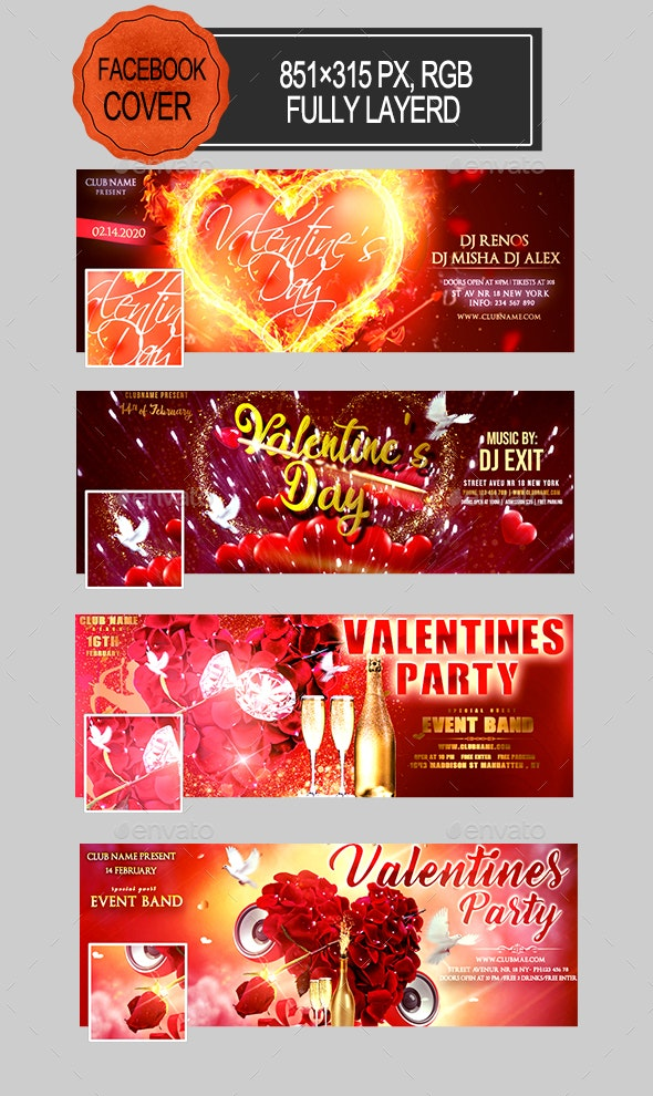 Valentines Day Facebook Covers - Facebook Timeline Covers Social Media