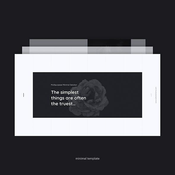 CICLE - Minimal Animated Presentation Template (Google)