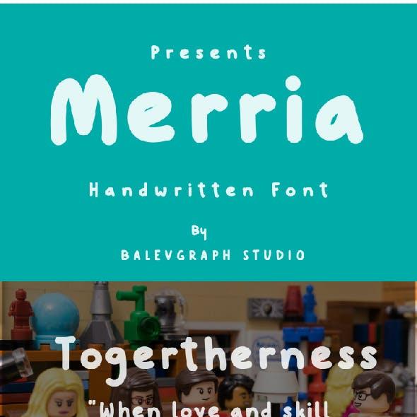 Merria Kids Font