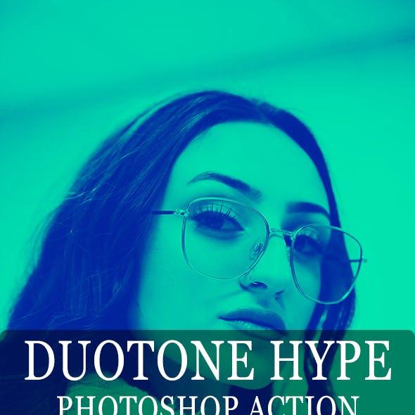 Duotone Hype - Photoshop Action