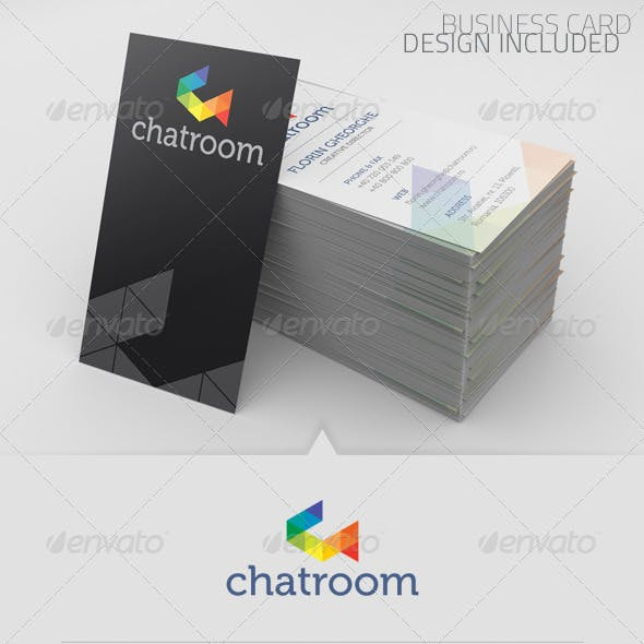 Chatroom Logo Template