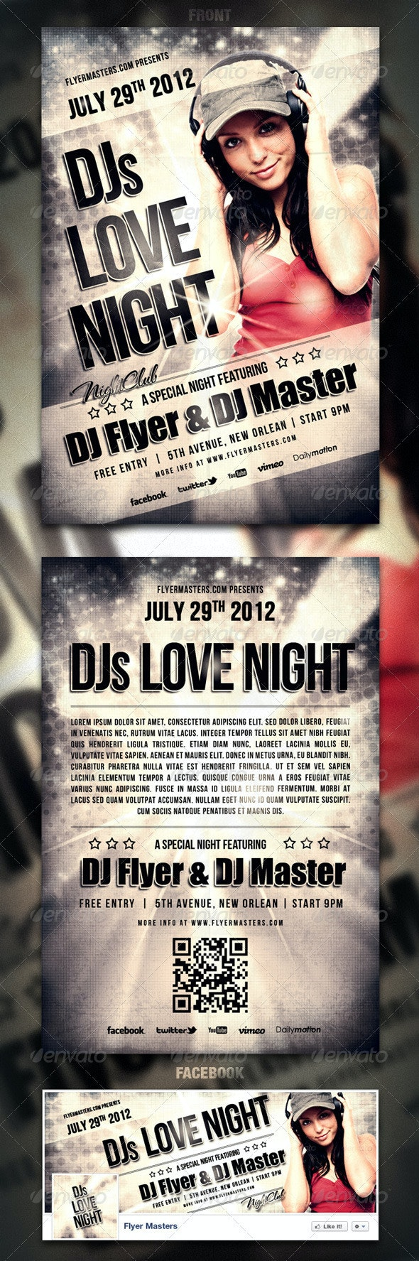 Love Night Flyer / Poster - Events Flyers