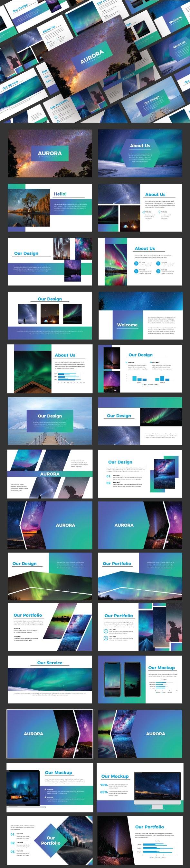 Aurora - Business Powerpoint Template - Business PowerPoint Templates