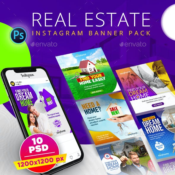 Real Estate Instagram Pack