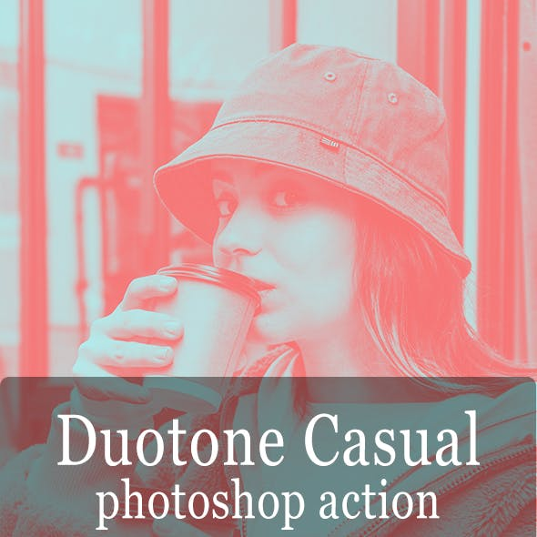 Duotone Casual - Photoshop Action