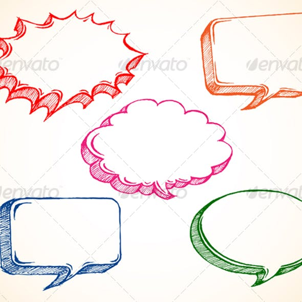Speech Bubble Doodle